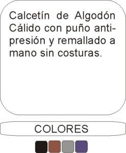 223537 Algodón Cálido - Descripción